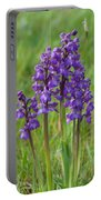 Green-winged Orchids Portable Battery Charger
