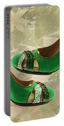 Green With Envy Pumps Portable Battery Charger