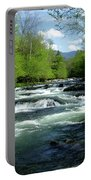 Greenbrier River Scene Portable Battery Charger