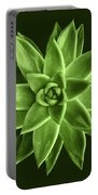 Greenery Succulent Echeveria Agavoides Flower Portable Battery Charger