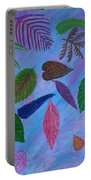 Colorful Leaves Portable Battery Charger