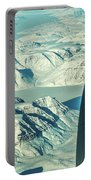 Greenland From Flight Level 380 Portable Battery Charger