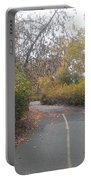 Greenway Trail In The Fall Portable Battery Charger