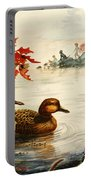 Greenwinged Teal Ducks Portable Battery Charger