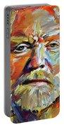 Greg  Allman Tribute Portrait Portable Battery Charger
