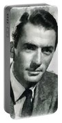 Gregory Peck Hollywood Actor Portable Battery Charger