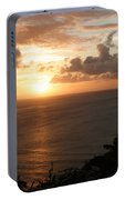 Grenadian Sunset I Portable Battery Charger