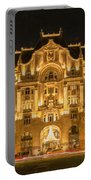 Gresham Palace Holiday Lights Painterly Portable Battery Charger