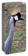 Grey Crowned Crain Of Africa 3 Portable Battery Charger