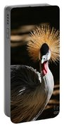 Grey Crowned Crane Portable Battery Charger
