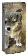 Grey Puppy Portable Battery Charger