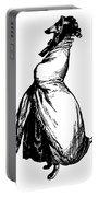 Greyhound Grandville Transparent Background Portable Battery Charger