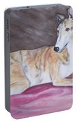 Greyhound Number 2 Portable Battery Charger