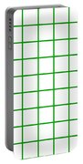 Grid Boxes In White 09-p0171 Portable Battery Charger