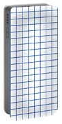 Grid Boxes In White 18-p0171 Portable Battery Charger