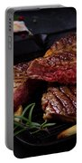 Grilled Beef Steak Portable Battery Charger