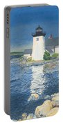 Grindle Point Light Portable Battery Charger by Dominic White
