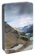Grinnell Glacier Overlook Vista - Glacier National Park Portable Battery Charger