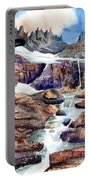 Grinnell Glacier Portable Battery Charger