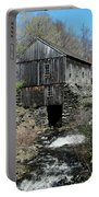 Grist Mill At Moore State Park Portable Battery Charger
