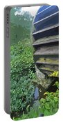 Grist Mill Water Wheel Cape Cod Portable Battery Charger