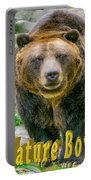 Grizzly Bear Nature Boy    Portable Battery Charger