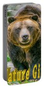 Grizzly Bear Nature Girl    Portable Battery Charger