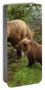 Grizzly Dinner For Two Portable Battery Charger