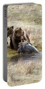 Grizzly Dinner Portable Battery Charger