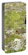 Grizzly Watching People Watching Grizzly No. 2 Portable Battery Charger