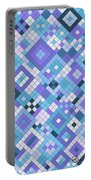 Groovy Blues Portable Battery Charger