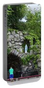 Grotto Of Our Lady Of Lourdes Portable Battery Charger