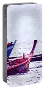 Group Of Fishing Boats Portable Battery Charger