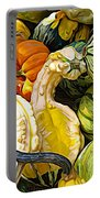 Group Of Gourds Expressionist Effect Portable Battery Charger