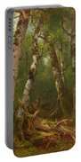 Group Of Trees Portable Battery Charger