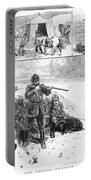 Grouse Hunting, 1887 Portable Battery Charger