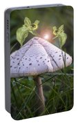 Growing Mushrooms Portable Battery Charger