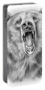 Growling Bear Portable Battery Charger