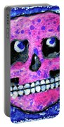 Grumbles The Discontent Purple Portable Battery Charger