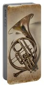Grunge French Horn Portable Battery Charger