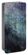 Grunge Texture Blue Ugly Rough Abstract Surface Wallpaper Stock Fused Portable Battery Charger