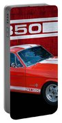 Red Gt 350 Mustang Portable Battery Charger