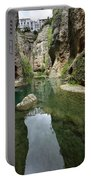 Guadalevin River At El Tajo Gorge From The Bottom Of The Secret  Portable Battery Charger