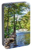 Guadalupe River - Gruene Portable Battery Charger