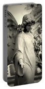 Guardian Angel Watching Over Portable Battery Charger