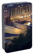Guggenheim At Night Portable Battery Charger