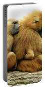 Guinea Baboons Portable Battery Charger