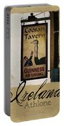 Guinness As Usual Athlone Ireland Portable Battery Charger