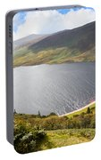 Guinness Lake In Wicklow Mountains  Ireland Portable Battery Charger