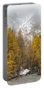 Guisane Valley In Autumn - French Alps Portable Battery Charger
